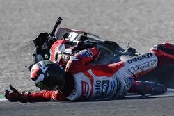 Авария: Хорхе Лоренсо, Ducati Team