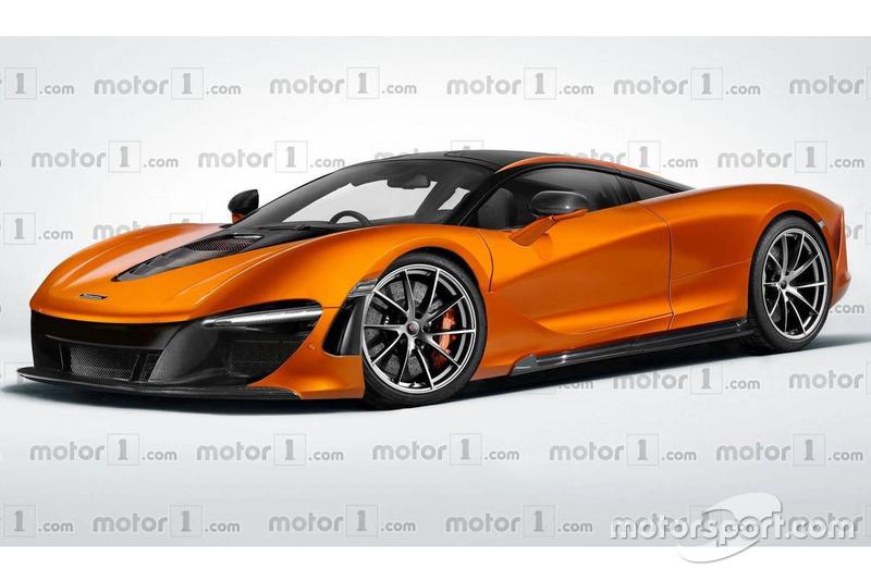 McLaren BP23 - рендер