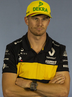 Nico Hulkenberg, Renault Sport F1 Team in the Press Conference