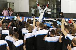 Il vincitore trofeo WTCC, Tom Chilton, Sébastien Loeb Racing, Citroën C-Elysée WTCC