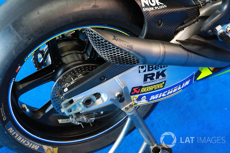 دراجة أليكس رينز، فريق سوزوكي