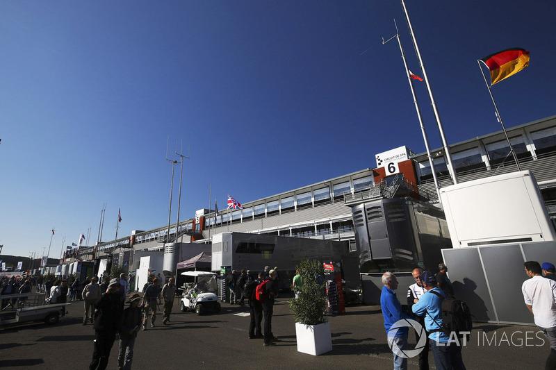WEC Paddock en Spa Francorchamps