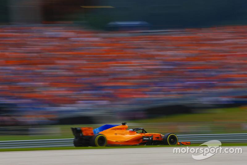 13: Fernando Alonso, McLaren MCL33, 1'05.058