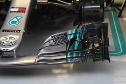 Ön kanat detay, Lewis Hamilton, Mercedes AMG F1 W09