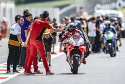 Le vainqueur Jorge Lorenzo, Ducati Team