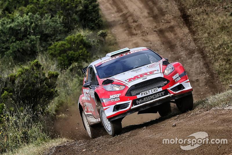 Gaurav Gill (WRC2, Rally Italy)