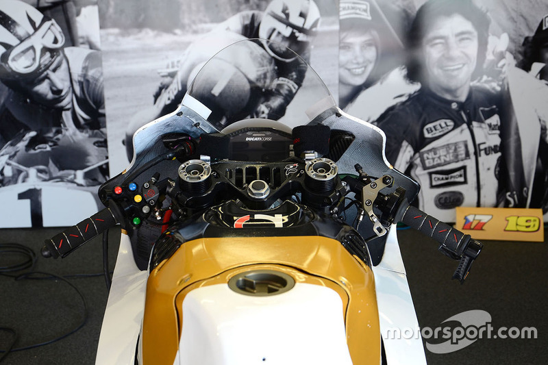 Aspar Racing bike detail
