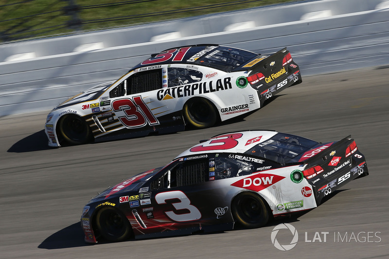 Austin Dillon, Richard Childress Racing Chevrolet, Ryan Newman, Richard Childress Racing Chevrolet