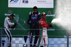 Podium: Luca Ghiotto, RUSSIAN TIME Sergio Sette Camara, MP Motorsport and Antonio Fuoco, PREMA Powerteam