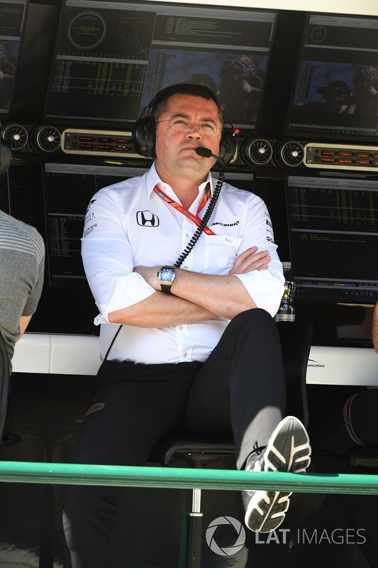 Гоночний директор McLaren Ерік Бульє