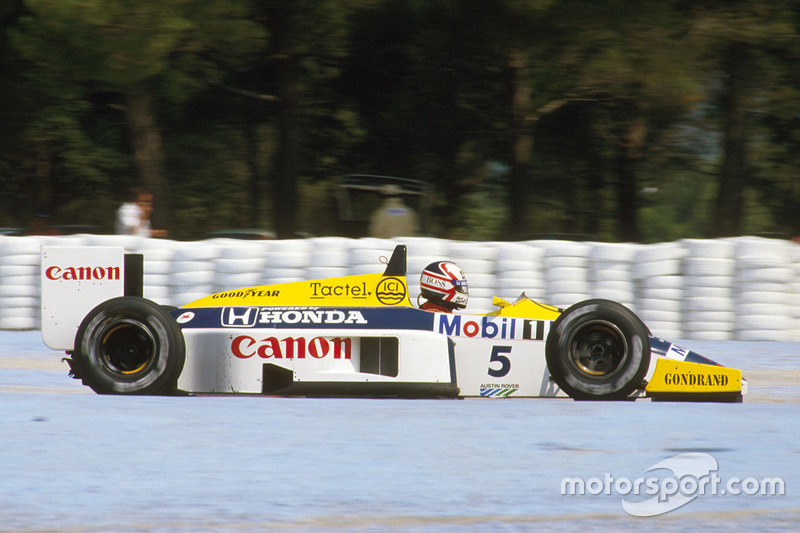 #7: Nigel Mansell (32 Pole-Positions)