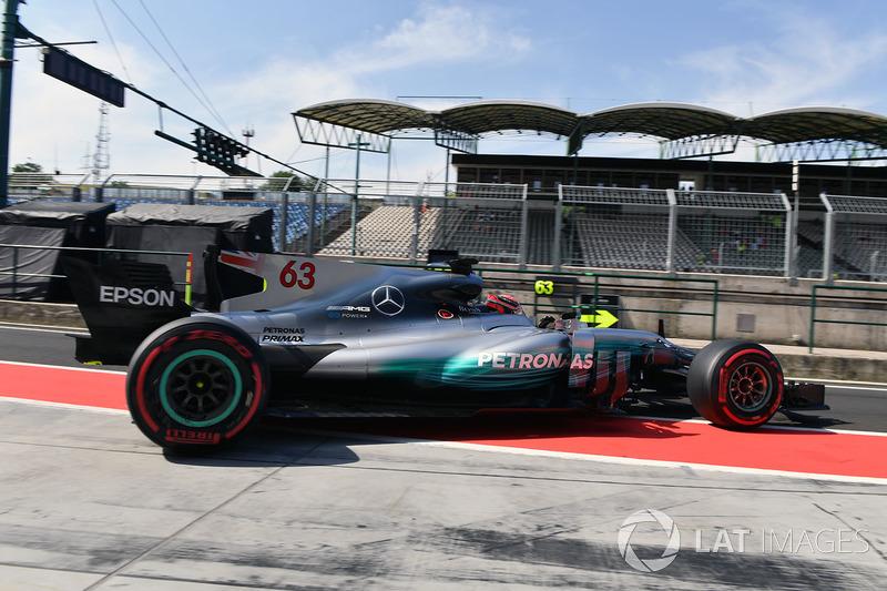 Джордж Рассел, Mercedes-Benz F1 W08 Hybrid