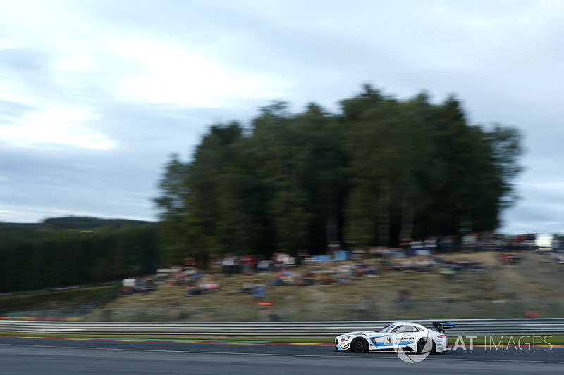 #4 Black Falcon Mercedes-AMG GT3: Адам Хрістодулу, Єлмер Бурман, Лука Штольц