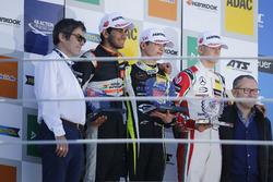 Rookie-Podium: 1. Lando Norris, Carlin Dallara F317 - Volkswagen; 2. Jehan Daruvala, Carlin, Dallara
