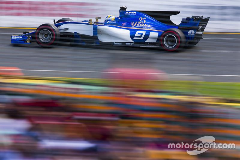 14: Маркус Ерікссон, Sauber C36