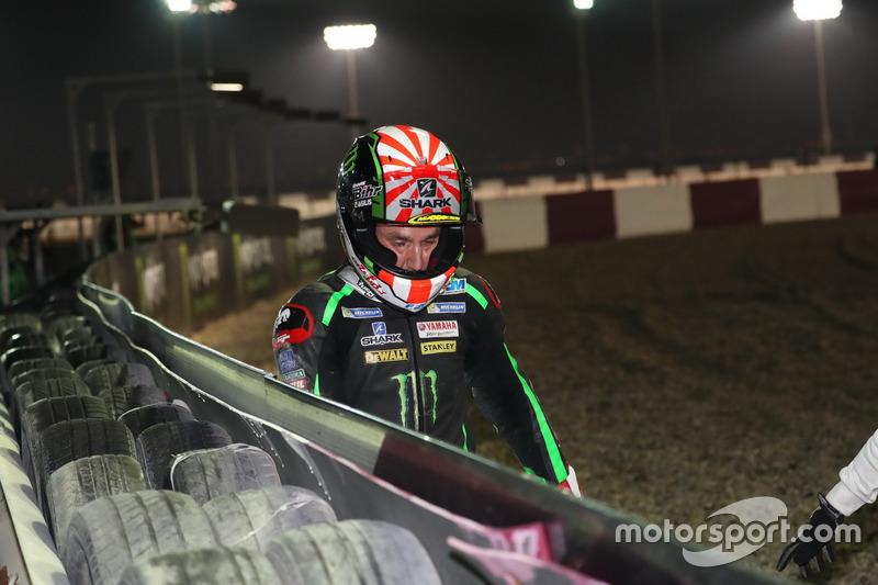 Choque, Johann Zarco, Monster Yamaha Tech 3
