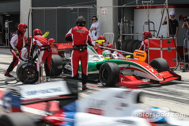 Nelson Mason, TeAlfonso Celis Jr., Fortec Motorsports