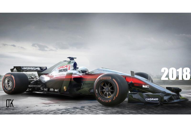 Porsche f12-hp Fantezi Konsept