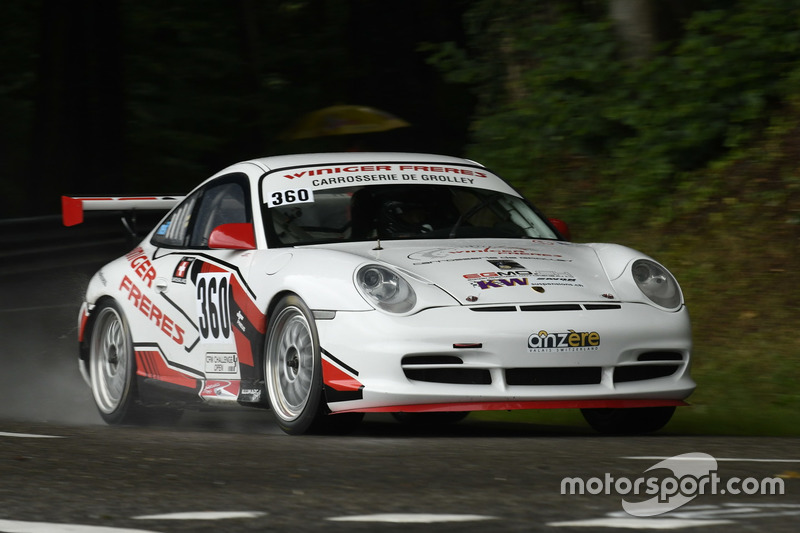 Frédéric Neff, Porsche 996 Cup, All-In Racing