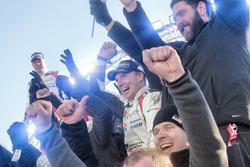 Race winner Jari-Matti Latvala, Toyota Racing