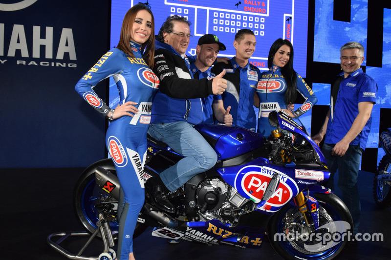 Alex Lowes, Michael van der Mark, Pata Yamaha Racing