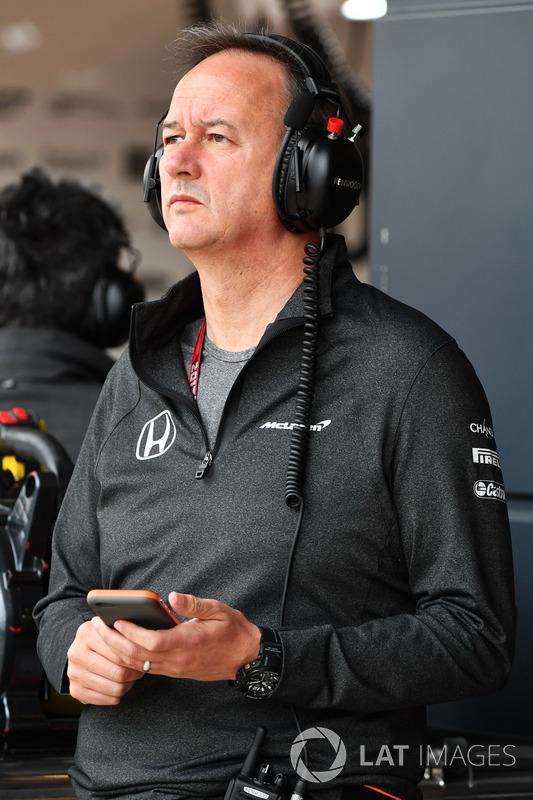 Jonathan Neale, McLaren Managing Director