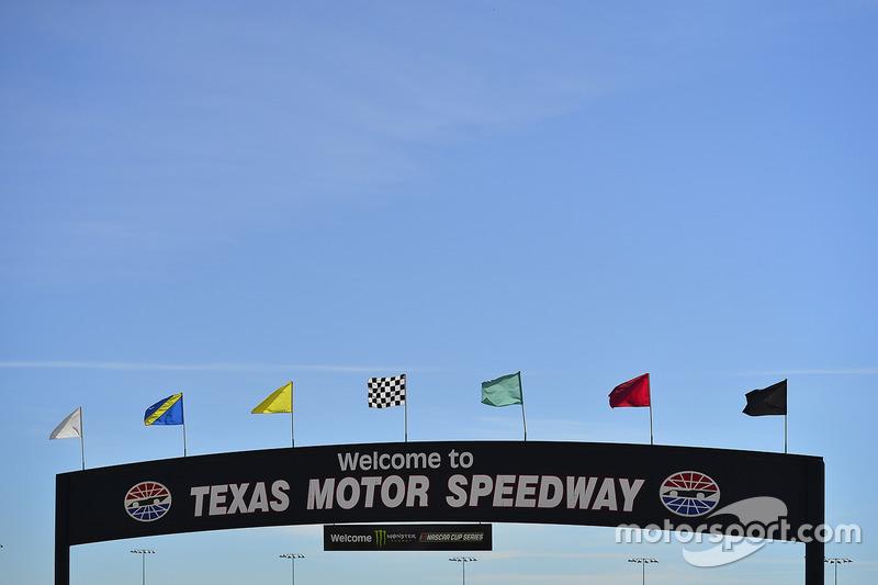 Texas Motor Speedway sign