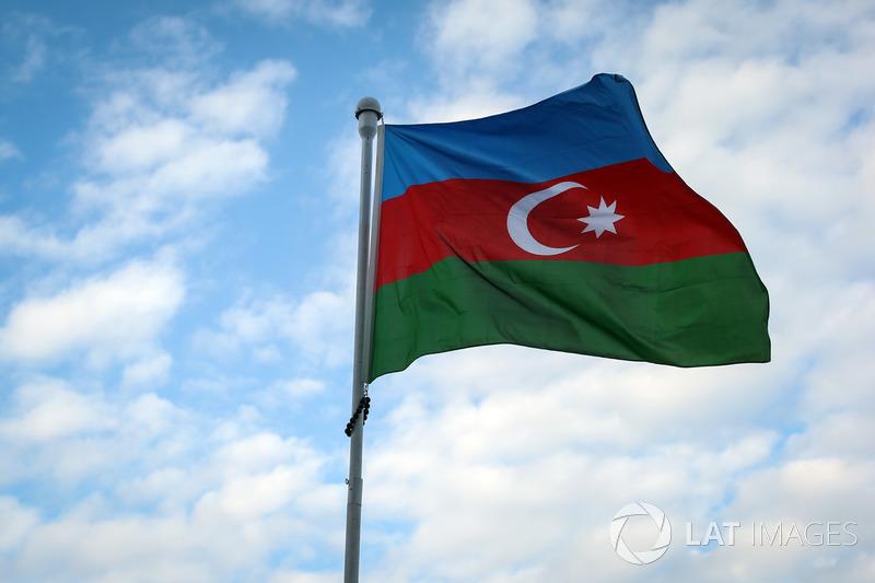 Flagge von Aserbaidschan