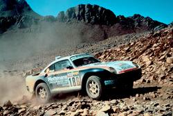 Porsche 959 #186: Рене Метж, Доминик Лемойн