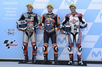Marcel Schrotter, Dynavolt Intact GP Brad Binder, Red Bull KTM Ajo Jorge Navarro, Federal Oil Gresini Aragon 2018