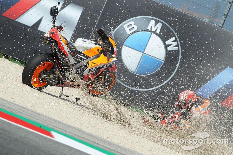 Аварія Марка Маркеса, Repsol Honda Team
