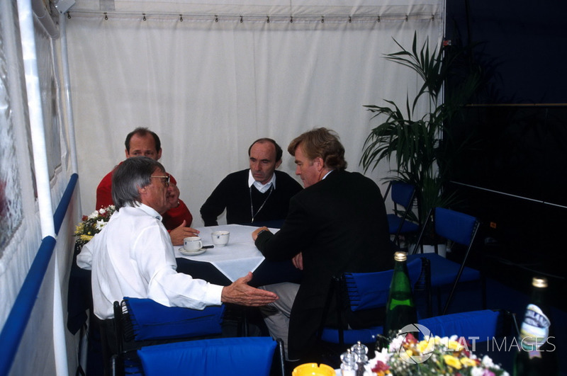 Bernie Ecclestone, Ron Dennis, McLaren, Frank Williams, Williams and Max Mosley