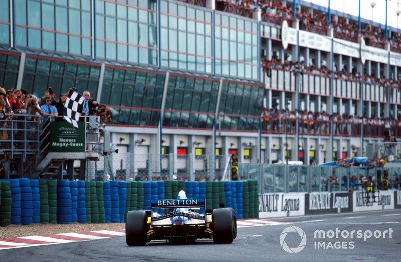 14勝目:1995年フランスGP