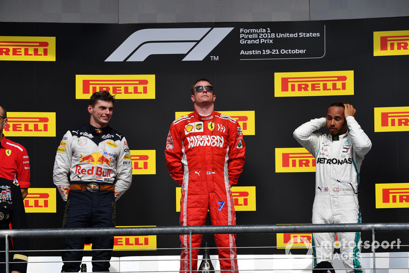 Кімі Райкконен, Ferrari, Макс Ферстаппен, Red Bull Racing, Льюіс Хемілтон, Mercedes AMG F1