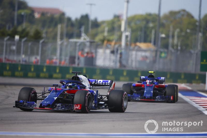 Brendon Hartley, Toro Rosso STR13, Pierre Gasly, Scuderia Toro Rosso STR13