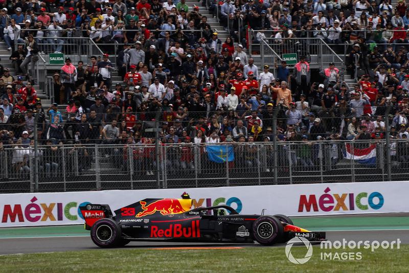 GP de México Max Verstappen