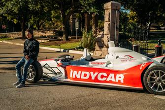 Rookie Driver ColtonHerta, IndyCar at Capitol