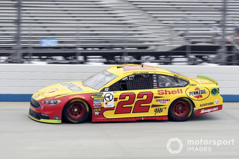 6. Joey Logano, Team Penske, Ford Fusion Shell Pennzoil