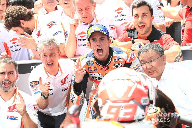 Pemenang balapan, Marc Marquez, Repsol Honda Team