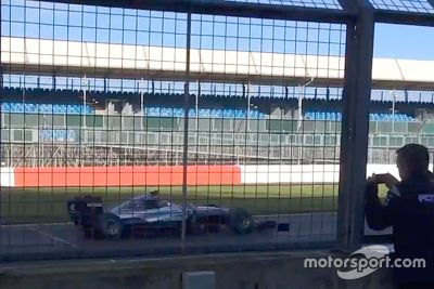 Mercedes Silverstone testing