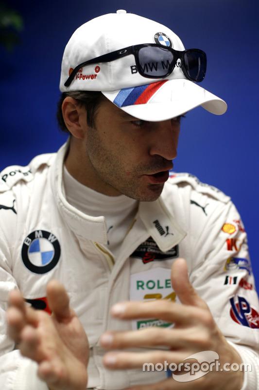 #100 BMW Team RLL BMW M6 GTLM: Lucas Luhr