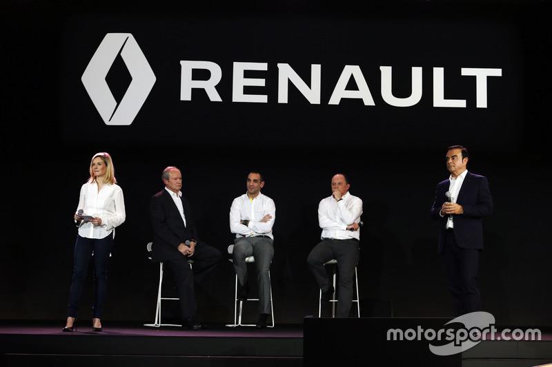 Руководители Renault Sport F1 и команды Ф1
