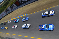 Kasey Kahne, Hendrick Motorsports Chevrolet, Ricky Stenhouse Jr., Roush Fenway Racing Ford