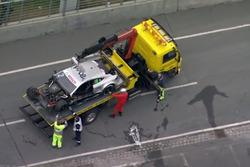 Screenshot: Schwerer Unfall am Norisring mit Gary Paffett und Mike Rockenfeller