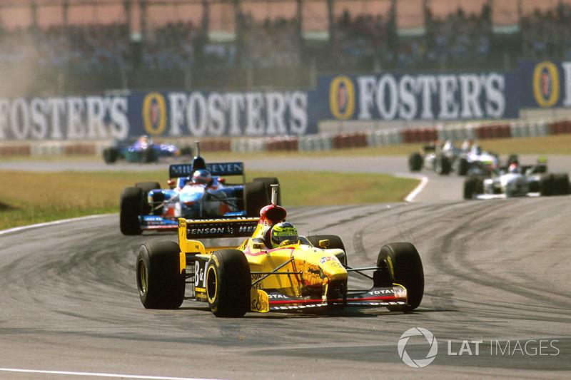 #8: Ralf Schumacher, GP Argentinien 1997 (21 Jahre, 287 Tage)
