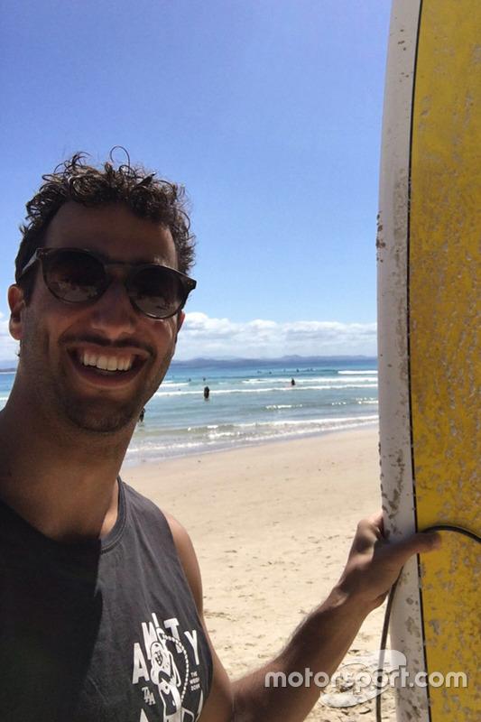 Selfie: Daniel Ricciardo
