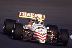 Роберто Морено, AGS Cosworth - сход из-за проблем с турбиной