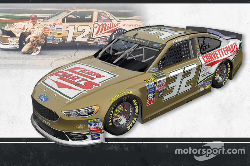 Throwback-Design: Matt DiBenedetto, Go Fas Racing Ford