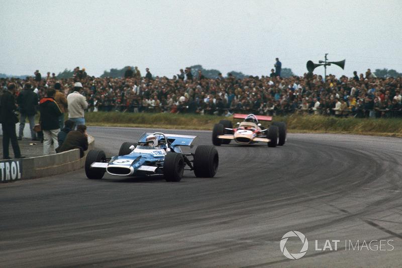Jackie Stewart, Matra MS80 Ford, Jochen Rindt, Lotus 49B Ford