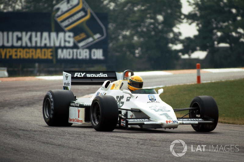 Ayrton Senna im Williams FW08C